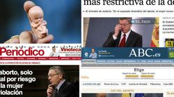 Reforma de la ley del aborto: así lo recogen los medios