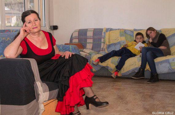 Familias reagrupadas por la crisis: tres generaciones bajo un mismo