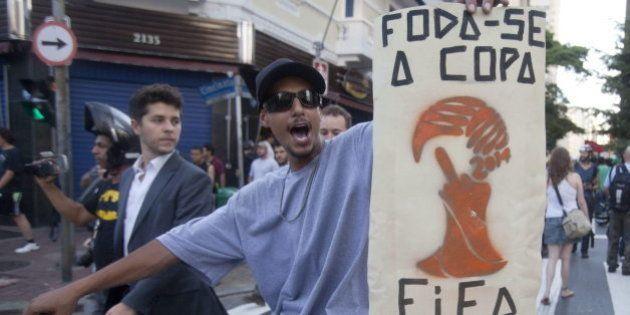 Al menos 143 detenidos en Brasil en las protestas contra el Mundial de