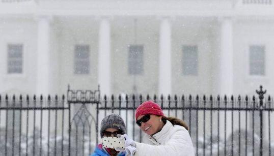 La peor tormenta de nieve en 90 años amenaza el este de EEUU