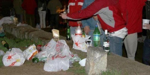 Un muerto y seis intoxicados en un botellón en