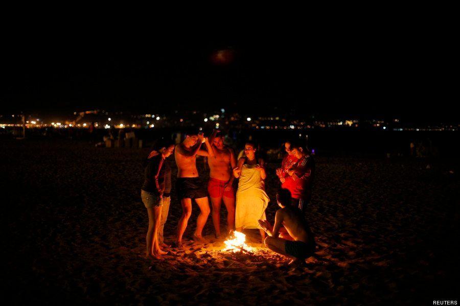 Hogueras San Juan 2014: 9 fotos de la noche más mágica del