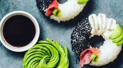 Donuts de sushi: ¿invento genial o