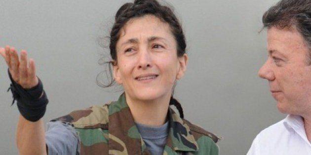 Ingrid Betancourt, secuestrada por las FARC: