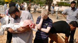 El drama de Gaza: 742 palestinos