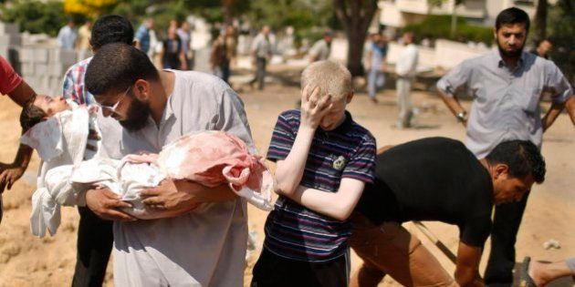El drama de Gaza: 742 palestinos asesinados por los ataques