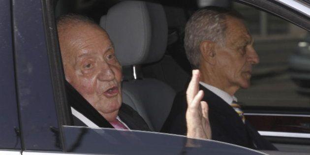 La reina avanza que don Juan Carlos puede salir este martes del