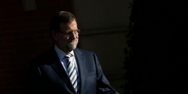 Rajoy llevaba