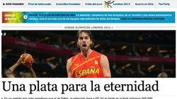 El España-EEUU, en la prensa en Internet