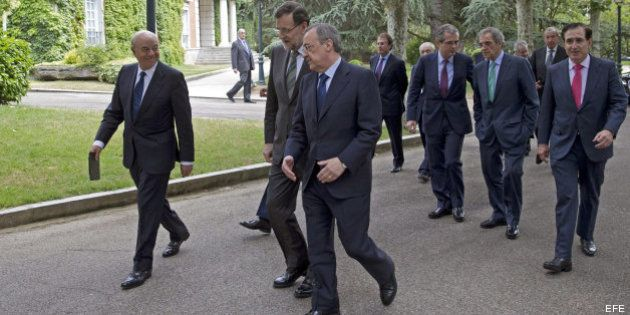 Rajoy, a los empresarios: