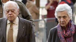 Jordi Pujol y Marta Ferrusola, abucheados a su llegada al juzgado para