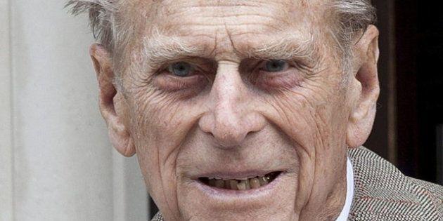 El duque de Edimburgo, hospitalizado como