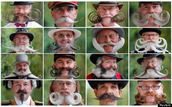 Pasarela de bigotes en el Campeonato Europeo