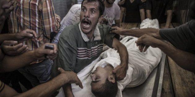 Al menos 17 muertos y más de 200 heridos tras un bombardeo israelí contra una escuela de la ONU en