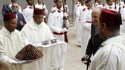 Montañas de dátiles para el rey en Marruecos