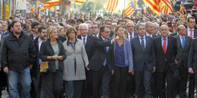 Junts ofrece a la CUP una presidencia colegiada con Mas, Romeva, Munté y