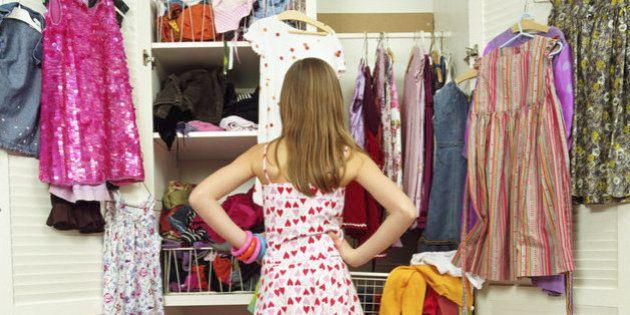 Compramos una cantidad brutal de ropa y la mayoría acaba en
