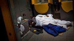 Dos hombres intentan quemar viva a una indigente en Daroca