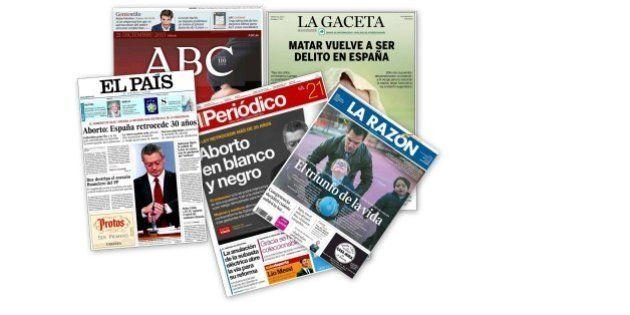 La ley del aborto, en la prensa: Del