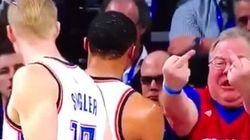 La genial reacción de Westbrook ante el gesto de este