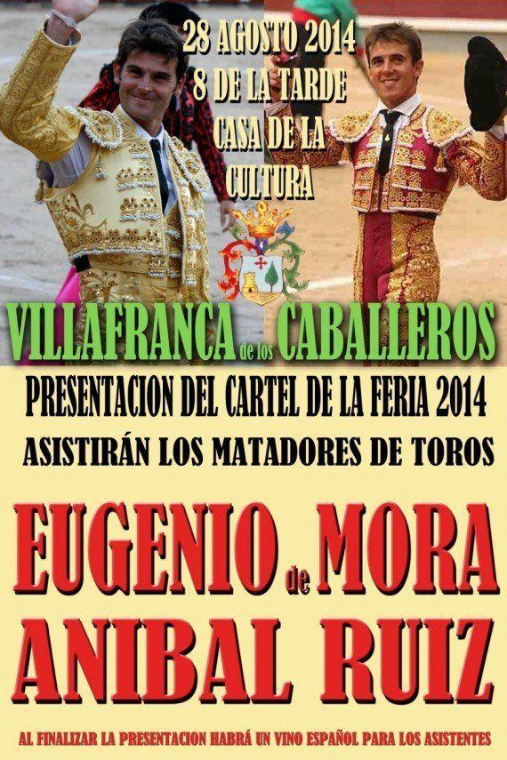Villafranca de los Caballeros cambia los toros por material