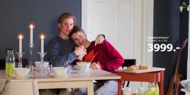 El catálogo de IKEA que desafía la homofobia de