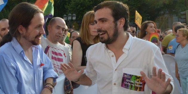 Alberto Garzón rechaza la oferta de Pablo Iglesias de ir en sus