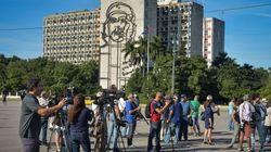 Iban a participar en una performance disidente, pero Cuba los