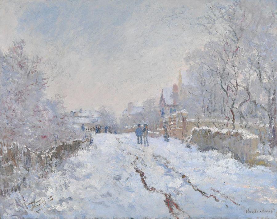 14 de las mejores escenas invernales en el arte