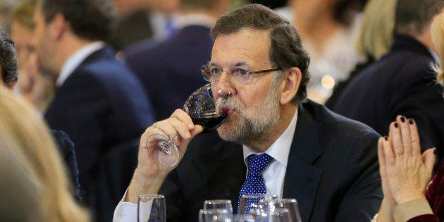 Rajoy pasa la Nochevieja con su familia en