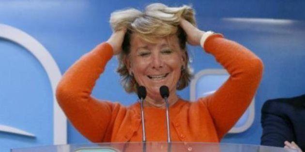 Esperanza Aguirre ve 'absurdo' retirar distinciones honoríficas a personas