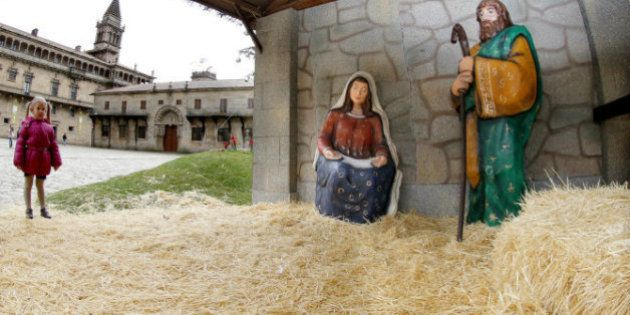 Roban el Baltasar (de tamaño real) del belén de Santiago de