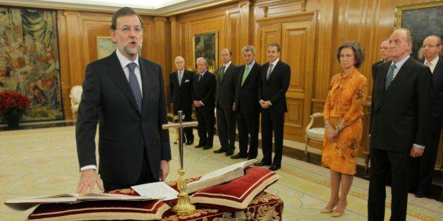 Dos años de Gobierno de Rajoy sin cambio de ministros pese a las