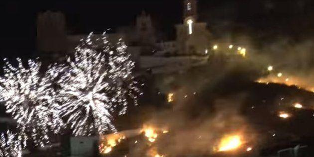 Imputado el alcalde de Cullera por el incendio provocado por unos fuegos