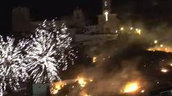 El alcalde de Cullera, imputado por el incendio generado por fuegos