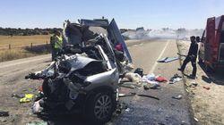Tres niños mueren en un accidente de tráfico en