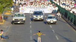 La historia del niño que se enfrentó a una marcha homófoba en