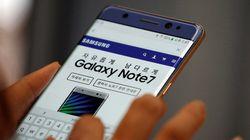 Samsung para la producción de Galaxy Note 7 tras nuevos
