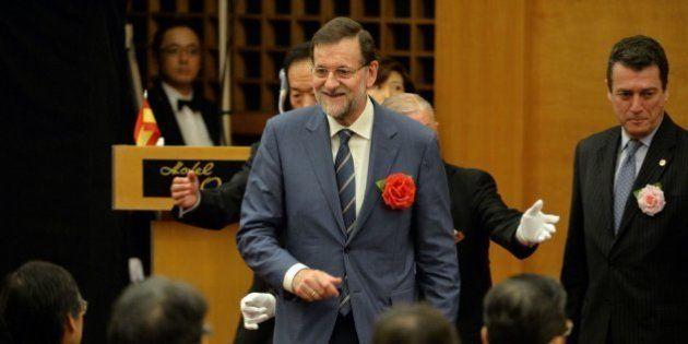 Rajoy vende España en Japón como un lugar para