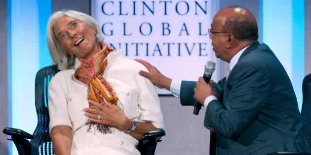 Christine Lagarde, directora del FMI, cobró un 1,8% más en el último