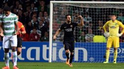 El Barça tira el muro del Celtic