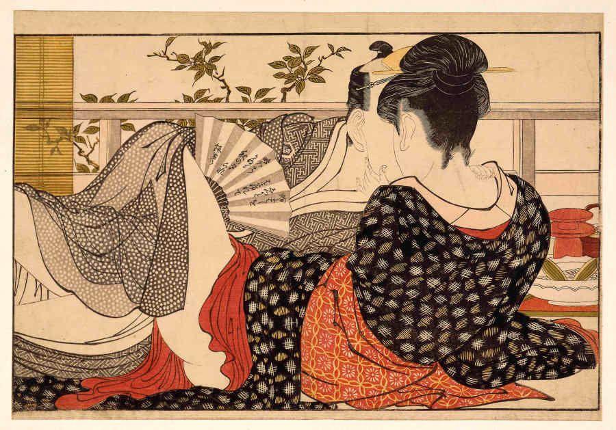 'Shunga': sexo y placer en el arte tradicional japonés, exposición en el Museo Británico