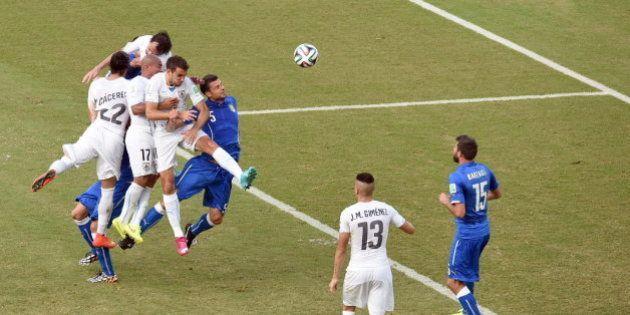 Mundial 2014: Italia, eliminada tras perder contra Uruguay