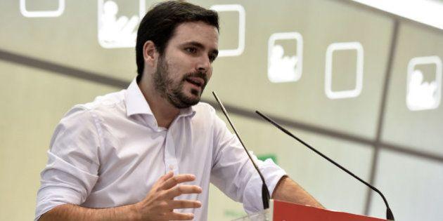Alberto Garzón, ingresado en un hospital por una infección
