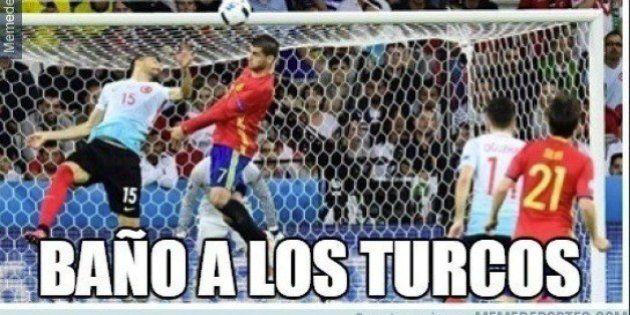 Los 'memes' del partido de España que recibirás por