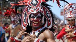 Viaja a los carnavales más famosos del mundo en 21 imágenes