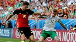 Bélgica logra ante Irlanda sus primeros puntos en Francia 2016