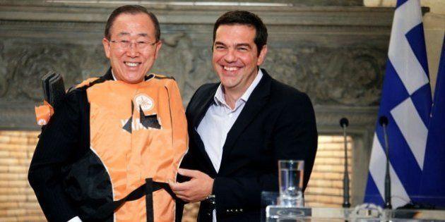 Ban Ki Moon pide ayuda para Grecia en la gestión de la crisis