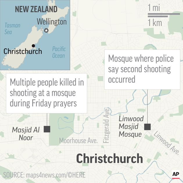 Mass Shooting At 2 New Zealand Mosques Leaves At Least 49 People