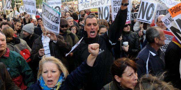 Directo 27O | Nueva manifestación para protestar contra los Presupuestos Generales del